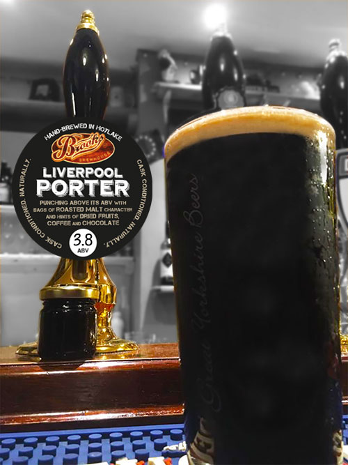 Brooks Brewhouse Liverpool Porter